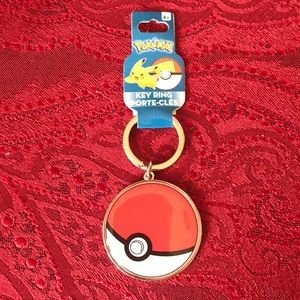Pokémon Key Ring Pokeball keychain